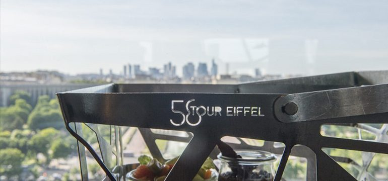 Le restaurant 58 Tour Eiffel