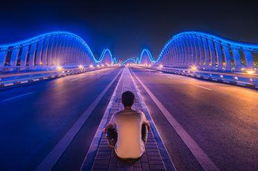 Le Meydan Bridge à Dubaï