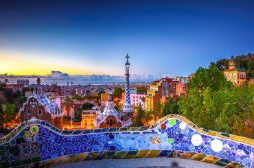 Le parc Guell de Barcelone