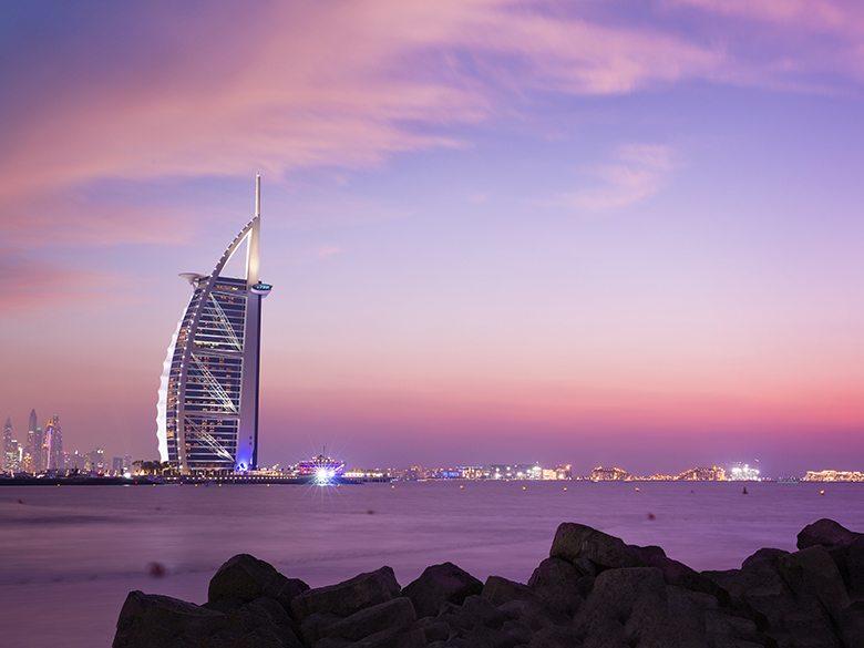 Hôtel Burj al arab Jumeirah à Dubaï