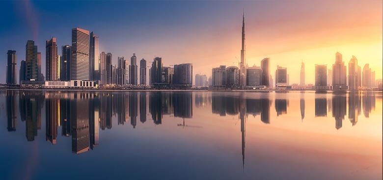 Le Burj Khalifa à Dubaï