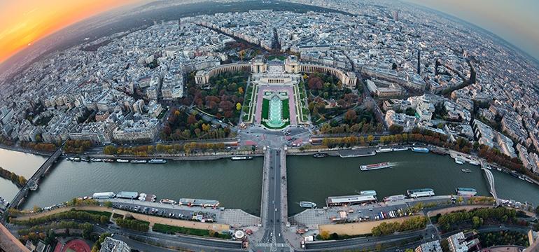 Dernier étage de la Tour Eiffel