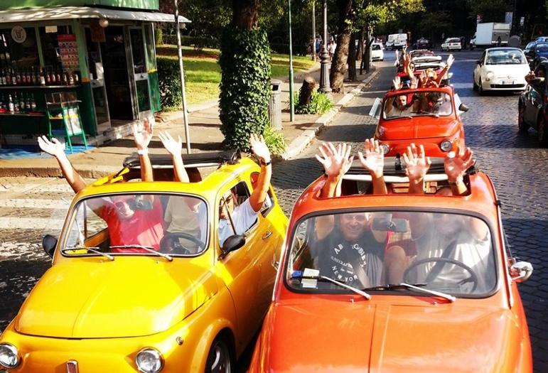 Visite de Rome en Fiat 500