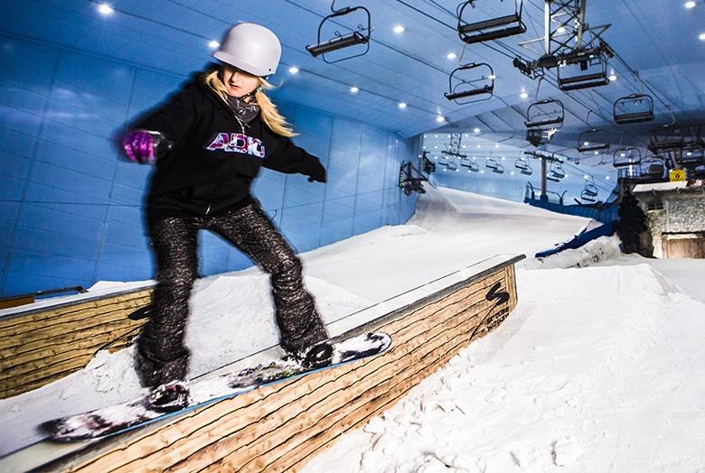 Faîtes du ski à Dubaï !