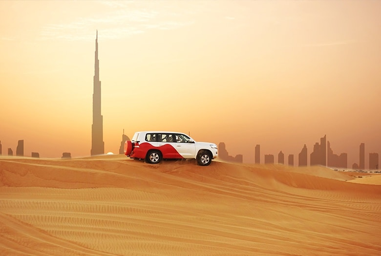 Faites du 4x4 à Dubaï