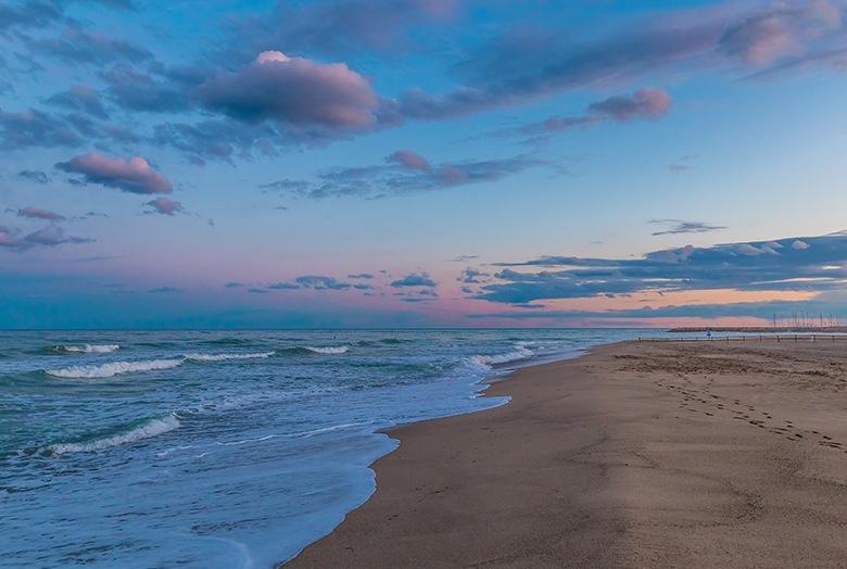 La plage de Costa Daurada