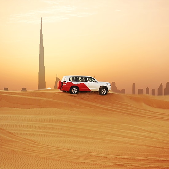 Safari 4X4 dans le désert